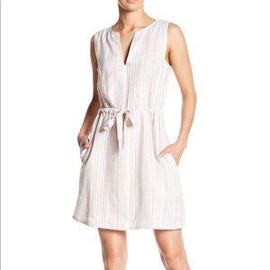 Spirit of Grace Stripe Linen Dress